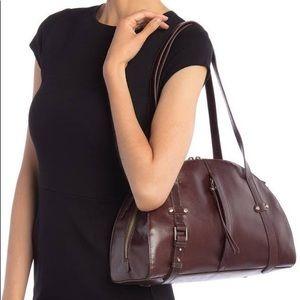 HOBO Beckon Espresso Leather Shoulder Bag